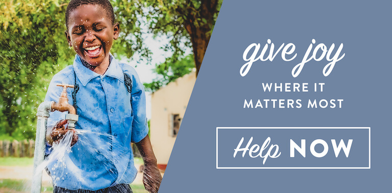 Give from the heart, help now.
