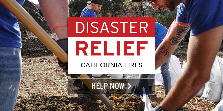California Wildfires Relief
