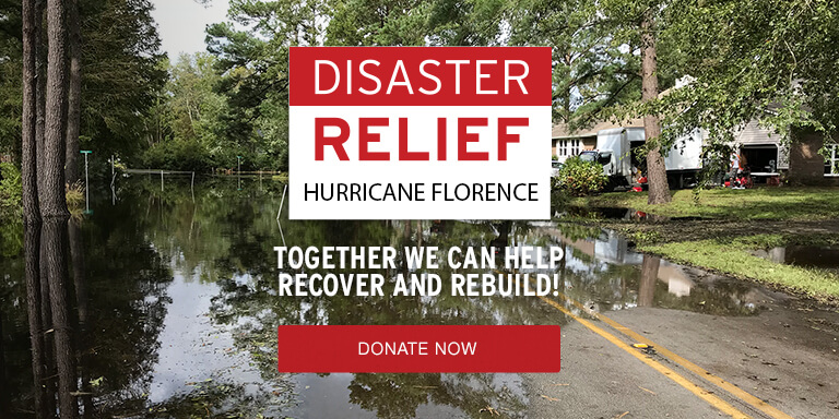 Disaster Relief - Hurricane Florence