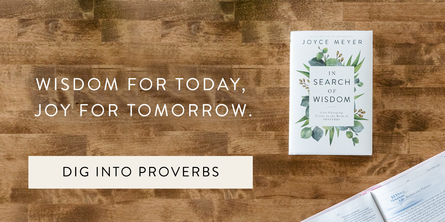 Joyce Meyer's: In Search Of Wisdom - Order Now