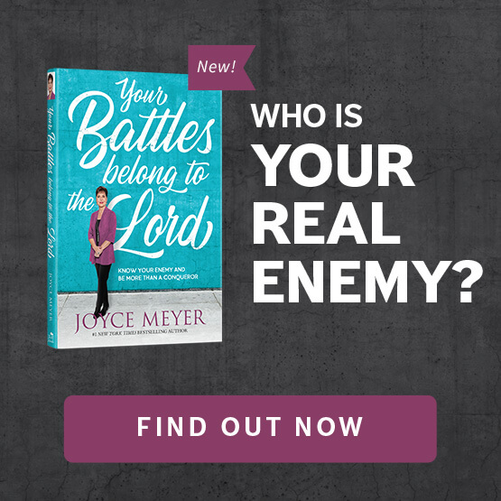 Check Out Joyce Meyer's New Book! - Your Battles Belong to the Lord