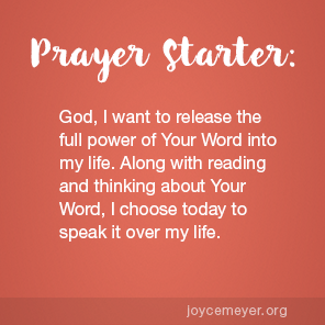 Daily Confessions: The power of Gods Word in your life