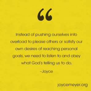 How To Calm Down and Cheer Up | Joyce Meyer Quotes