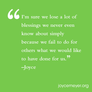 Serving God By Serving Others | Joyce Meyer - Everyday Answers