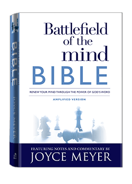 Battlefield of the Mind Bible Hardcover