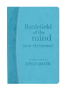 Battlefield of the Mind New Testament Arcadia Blue