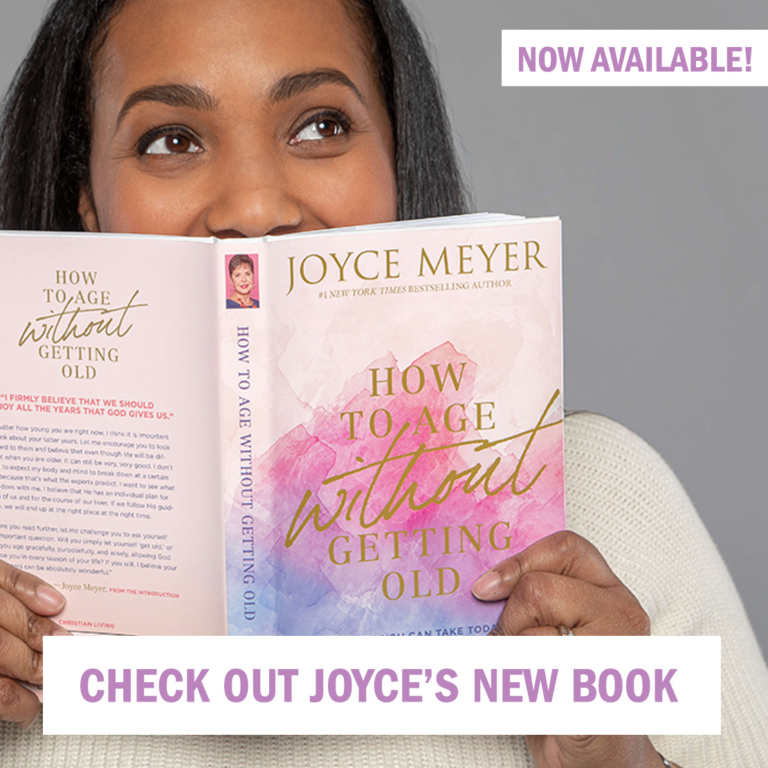 Get Joyce's book - How to Age Without Getting Old