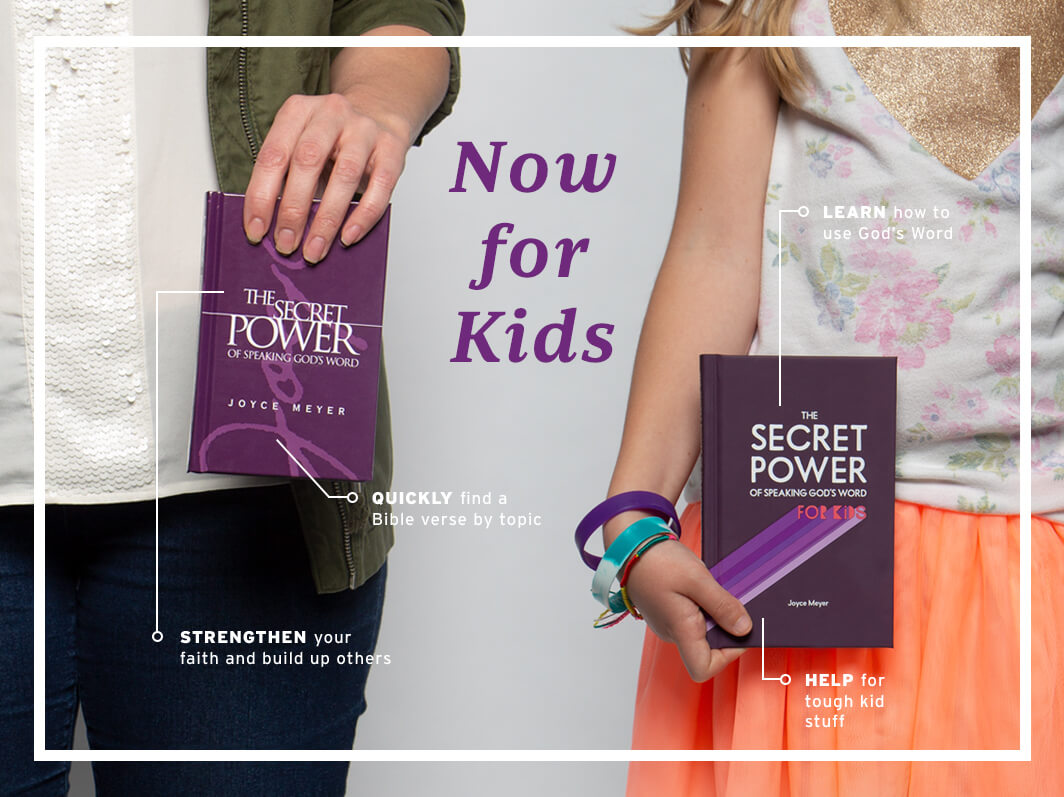 The Secret Power of Speaking God's Word - Now for Kids