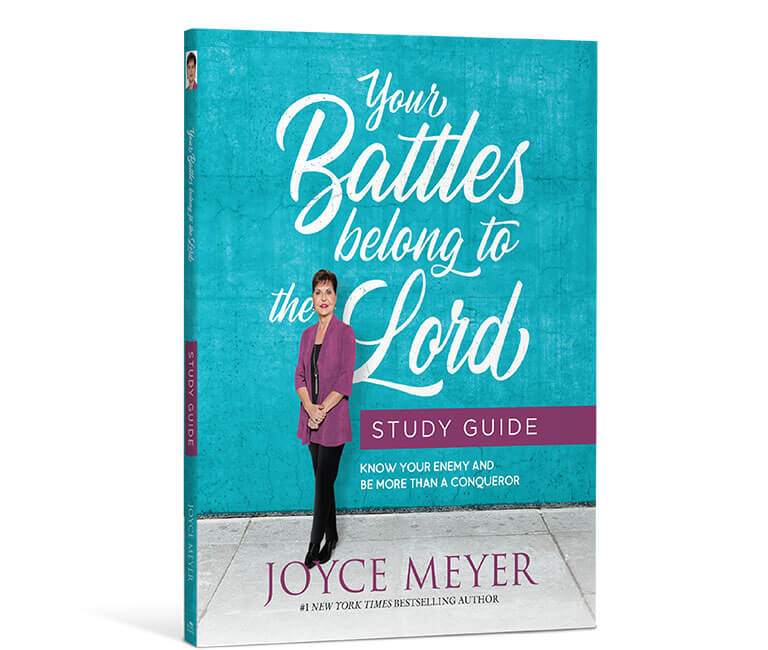 Your Battles Belong to the Lord Study Guide - Paperback