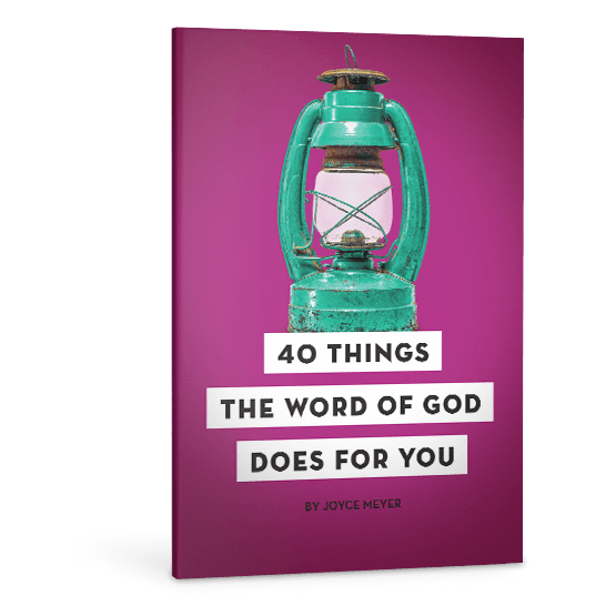 40 Things the Word of God Does for You