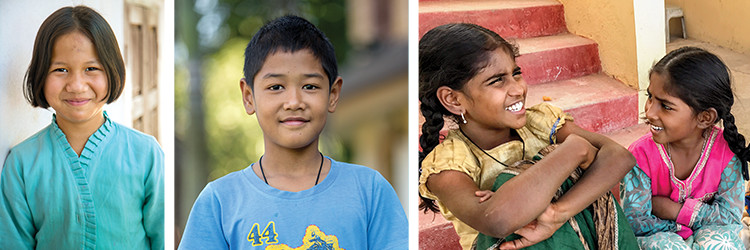 Faces of Hope: Meet Our Kids
