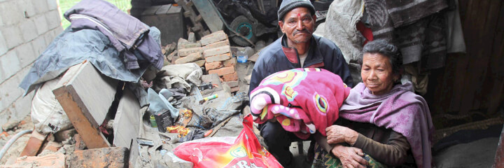 He'd Saved for Years to Build Their Home - Nepal Earthquake