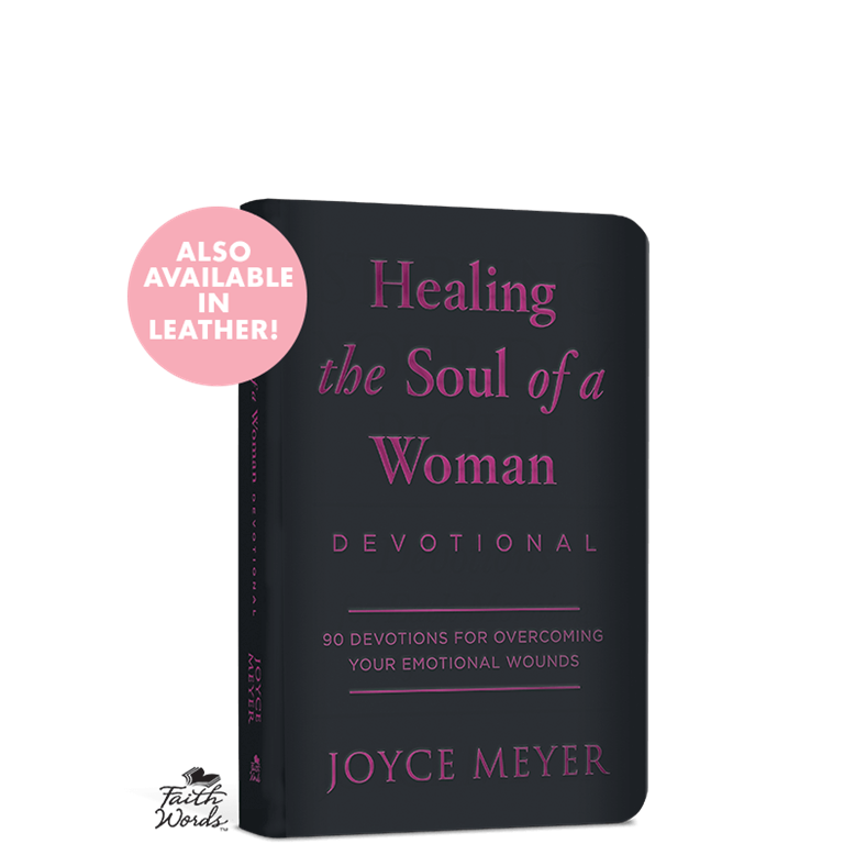 Healing the Soul of a Woman Leather Devotional