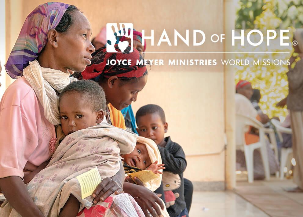 Joyce Meyer Ministries Enjoying Everyday Life Hand Of Hope