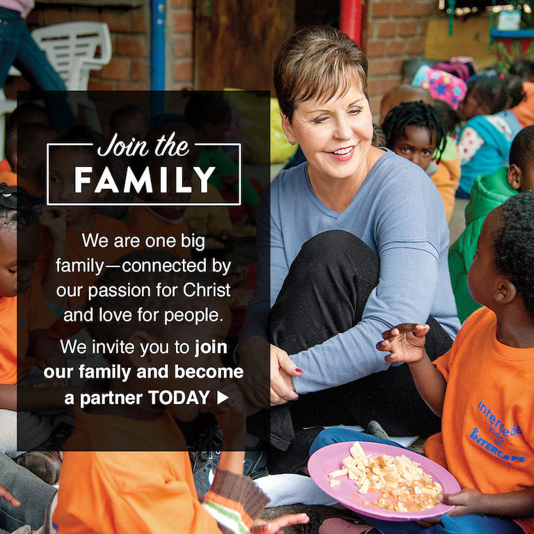 Joyce Meyer Ministries, Enjoying Everyday Life, Hand of Hope