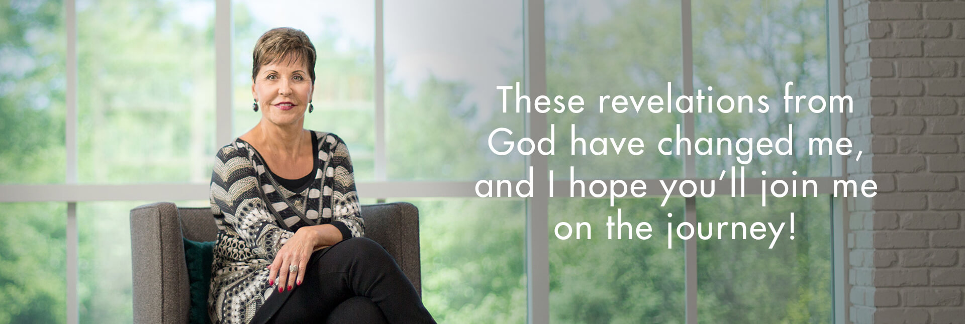 These revelations from God have changed me, and I hope you'll join me in the journey!