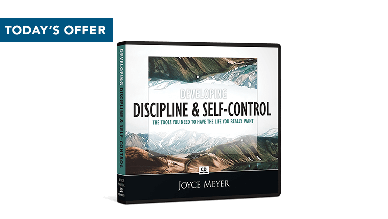 Developing Discipline and Self-Control