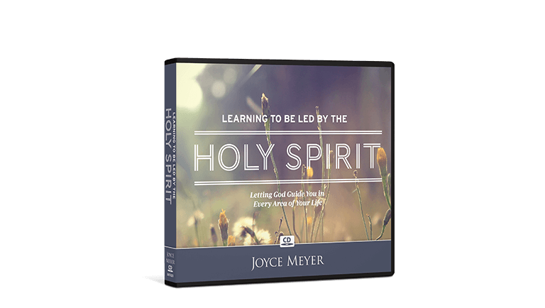 Learning to be Led by the Holy Spirit CD Package