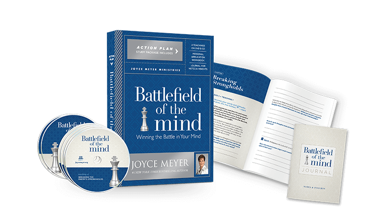 Battlefield of the Mind Action Plan Package with CDs, DVDs, Journal, and Study Guide