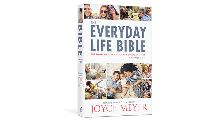 Everyday Life Bible Hardcover Book