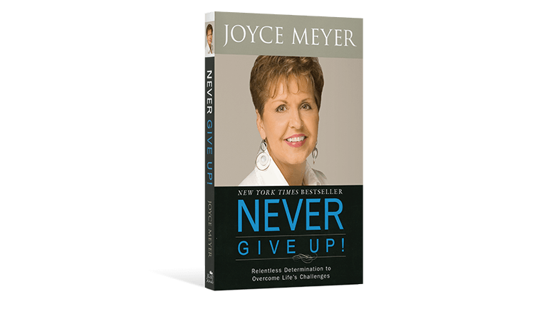 Never Give Up! Paperback Book
