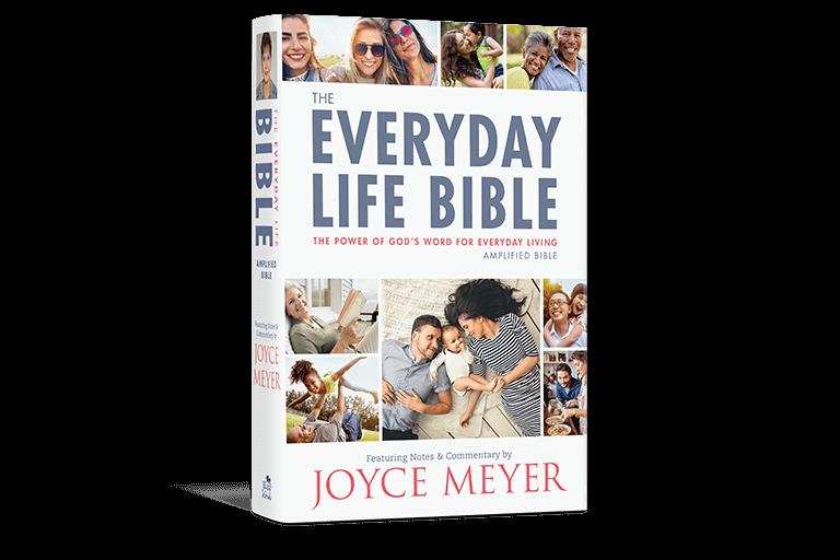 The Everyday Life Bible Joyce Meyer Ministries