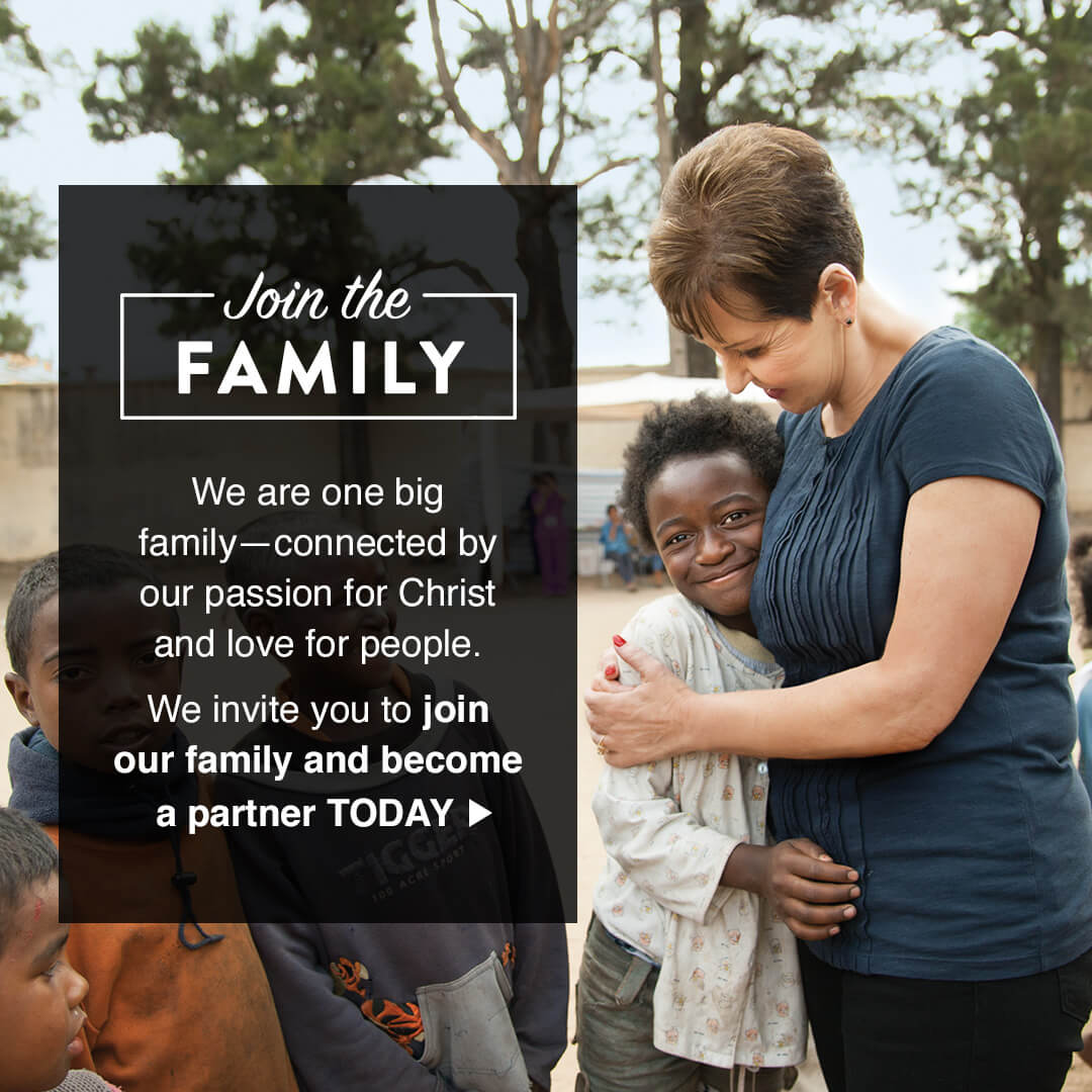 Join the family and become a partner today!